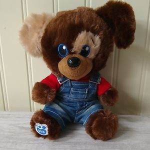 Build a Bear Smallfry Dog with Clothes